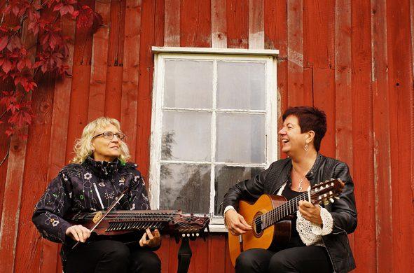 Ann-Catrine Persson och Ingmarie Romell