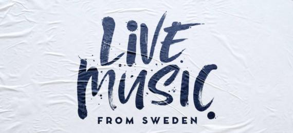 Live Music from Sweden – ansök med konsertfilm nu!